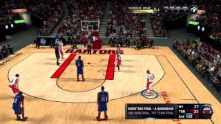 NBA 2K11 My Player - 1st NBA Game & Press Conference