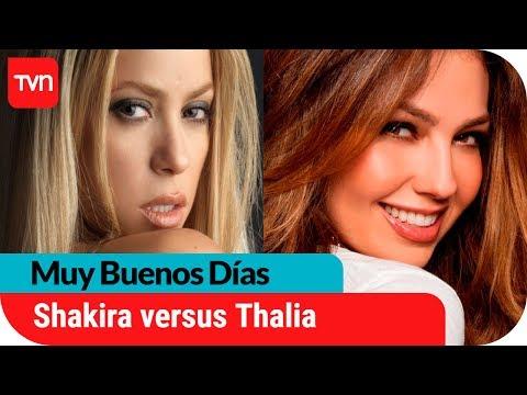 Shakira versus Thalia   Muy buenos días