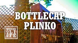DIY Plinko Bottle Opener - A VERY refreshing outdoor summer yard game | Builds