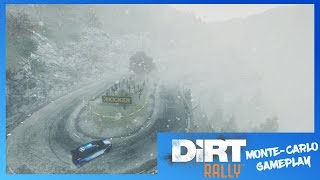 DiRT Rally Xbox One Cinematic Gameplay | Hyundai i20 Rally Car (Monte Carlo) 1080p