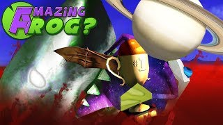 STEALING TROPHIES FROM ZOMBIE SHARKS - Amazing Frog Halloween Update - Part 162 | Pungence