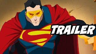 Superman Reign of The Supermen Movie Trailer
