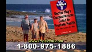Ideal Living Presents Prosvent- Part 2: Improve Your Prostate Health Today