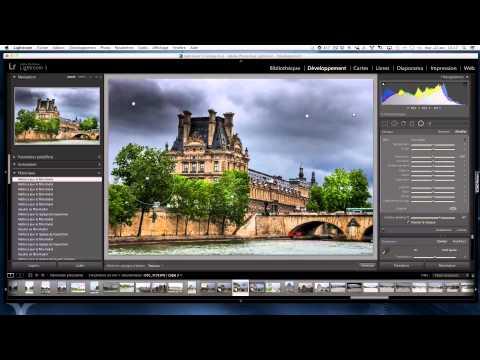 tutorial LR5 Effet HDR sur photo jpeg par Phil Lap