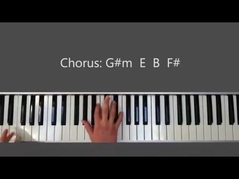 Pursue Hillsong Young and Free - Piano Tutorial and Chords
