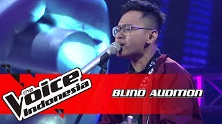 Indra - Let it go | Blind Auditions | The Voice Indonesia GTV 2018