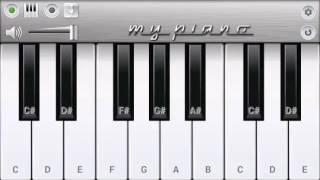 Very Popular Vishwatma Flute   Piano Tutorial