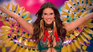 Alessandra Ambrosio Victoria's Secret Runway Walk Compilation 2000-2016 HD