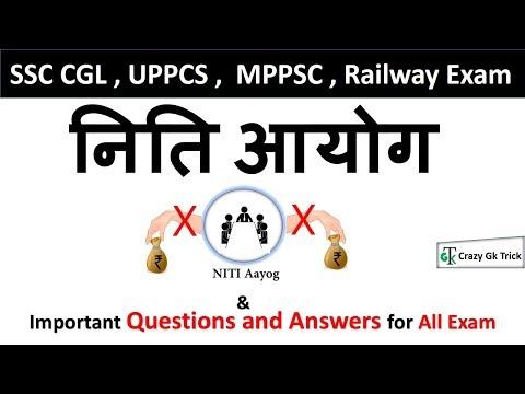 What is NITI Aayog नीति आयोग क्या है