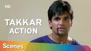 Action Scenes From Takkar (1995) (HD) Suniel Shetty | Naseeruddin Shah - 90