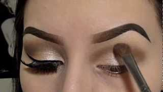 Champagne Shimmer (Neutral Colors) Eyeshadow Tutorial