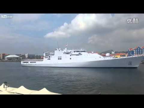 荷蘭級巡邏艦霸氣外露