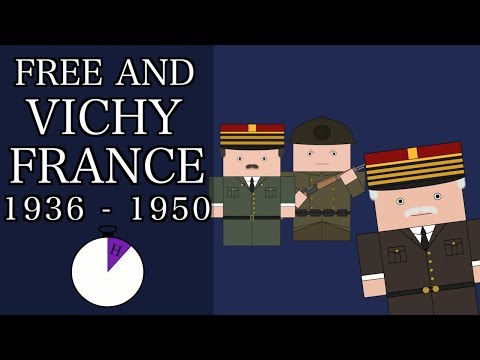 Ten Minute History World War 2 Free and Vichy France Short Documentary