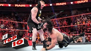 Top 10 Raw Moments: WWE Top 10, June 10, 2019