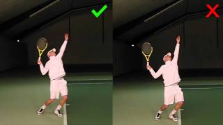 Tip #4: Fluid Serve Motion