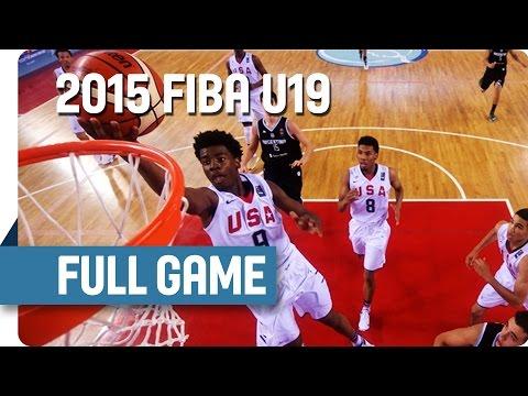 watch USA v Argentina - Round of 16 - Full Game - 2015 FIBA U19 World Championship
