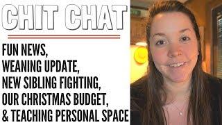 Chit Chat // Fun news, Christmas Budget + Wishlist & Updates!