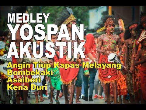 Lagu Papua Yospan   Yosim Pancar Akustik Medley - Angin Tiup Kapas Melayang-Bombekaki-Asaibori