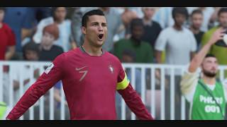 """World Cup 2018 Finals - Portugal vs Argentina """"What If"""" World Cup 2018 ft Messi vs Ronaldo (FIFA 18)"""