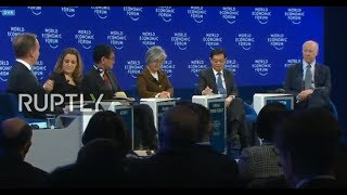 "LIVE: WEF 2019: ""The Geopolitical Outlook"""