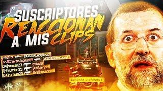 Reacción de SUSCRIPTORES a CLIPS en LIVE! - Black Ops 3 -