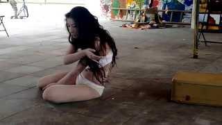 Danza BUTOH en el 5to Encuentro de Arte Libertario
