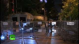 Turkish police enters Saudi consulate in Istanbul