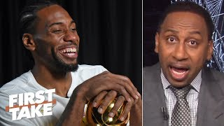 'No chance in hell' Kawhi joins the Sixers even if he meets with them - Stephen A. | First Take