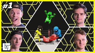 Gang Beasts met Enzo, Don, Link en Ronald | XL Battle | LOGNL #1