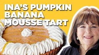 Barefoot Contessa Makes a Pumpkin Banana Mousse Tart for Thanksgiving | Food Network