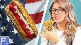 Irish People Try American Hot Dogs