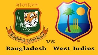 Bangladesh VS West Indies 2nd ODI 2012 Highlights