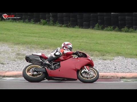 Ducati 999 on track + onboard lap