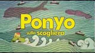 Ponyo sulla scogliera - sigla iniziale