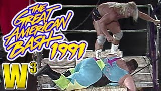 WCW Great American Bash 1991 Review | Wrestling With Wregret