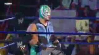 17/07/09 Smack Down  Jeff Hardy & Rey Mysterio vs Chris Jericho & Dolph Ziggler  Par 1