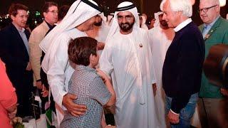 """محمد بن راشد يشهد حفل """"ميدان"""" لضيوف مهرجان كأس دبي العالمي لسباق الخيل"""