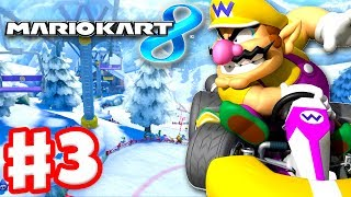 Mario Kart 8 - Gameplay Part 3 - 50cc Star Cup (Nintendo Wii U Walkthrough)