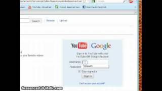 How to sign in Youtube using a Google Account