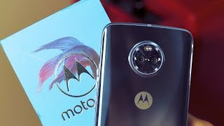 Motorola Moto X4 Sterling Blue Unboxing | Indian Retail Unit