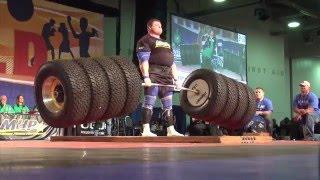Top 10 Strongest Men in The World