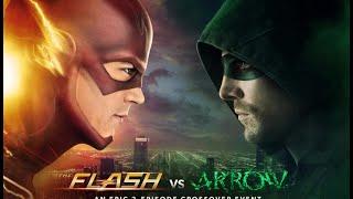 The Flash Vs. Arrow Subtitle Indonesia