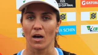 Maria Antonelli BRA at the FIVB World Cup Final