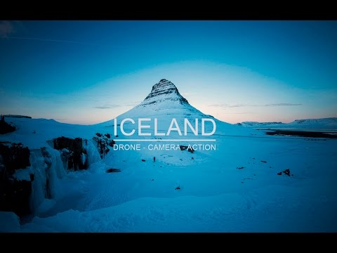 Iceland - drone camera action