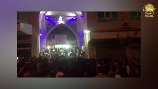IRAN, April. 18, Night of protests in Baneh over border closures in Kurdistan Province