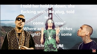 French Montana - Moses Ft  Chris Brown & Migos (Lyrics On Screen)