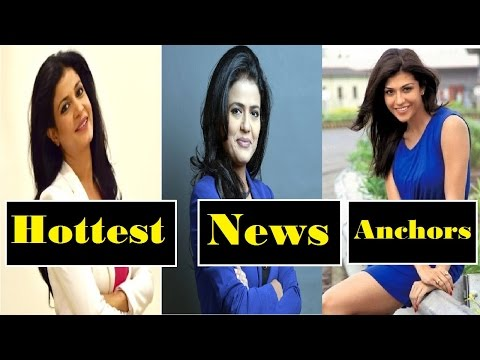 ► Top 10 Hottest Indian News Anchors | Indian Female News Presenter