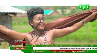 Karasira Clarisse na Elisha muri studio za TV1 Rwanda