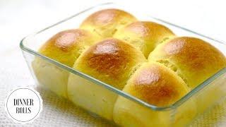 Easy No Knead Dinner Rolls/ Bread making in Five Simple Steps