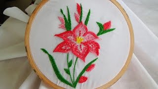 Hand Embroidery: Rope stitch